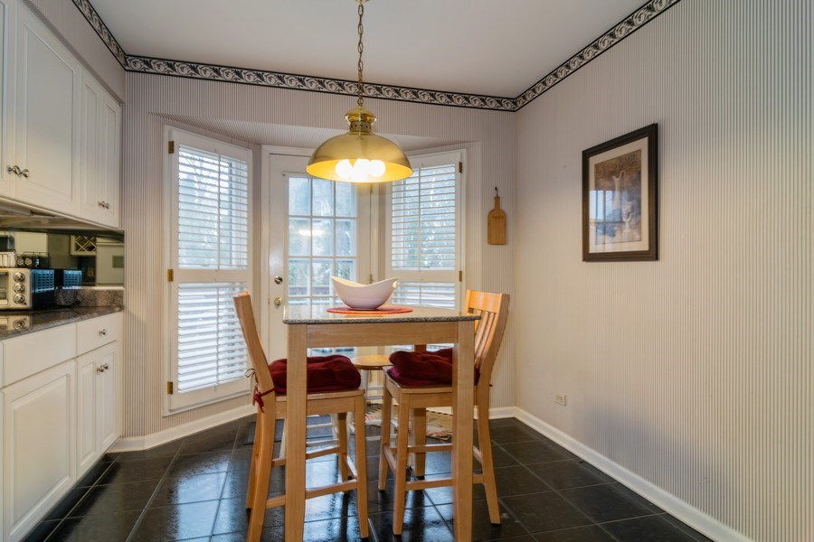 Real Estate Photography - 4234 N. Walnut Ave, Arlington Heights, IL, 60004 - Breakfast Nook