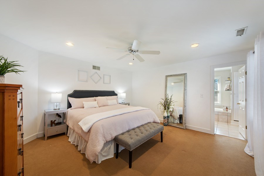 Real Estate Photography - 1115 N Patton, Arlington Heights, IL, 60004 - Master Bedroom