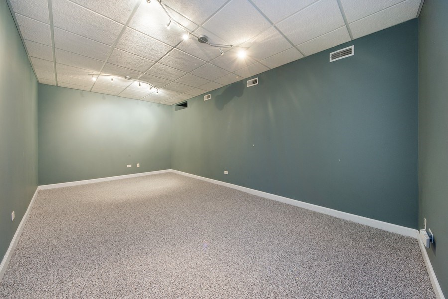 Real Estate Photography - 1115 N Patton, Arlington Heights, IL, 60004 - Media Room
