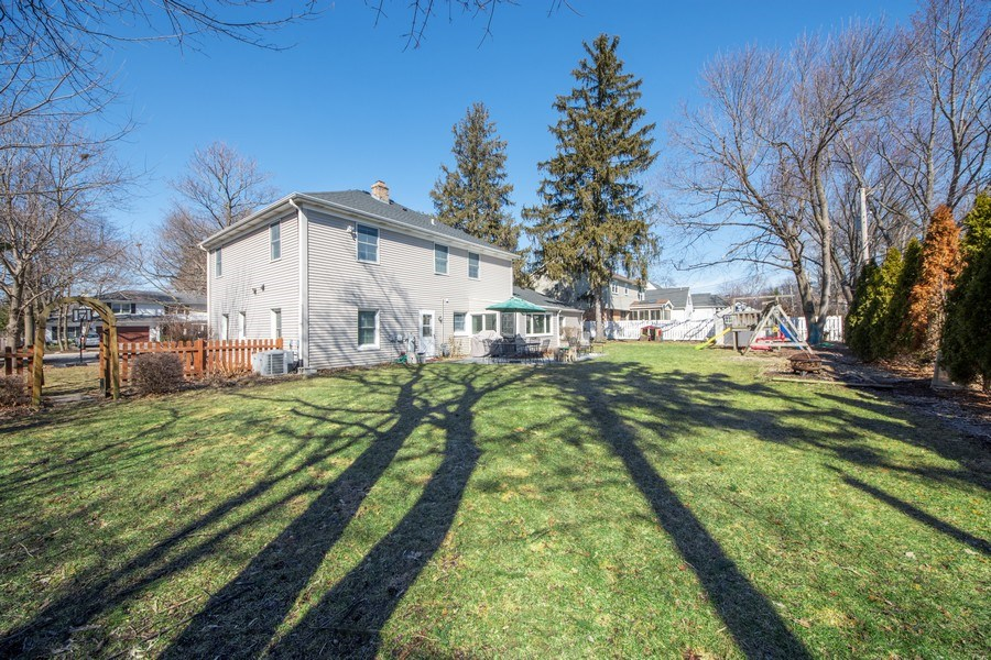 Real Estate Photography - 1115 N Patton, Arlington Heights, IL, 60004 - Rear View