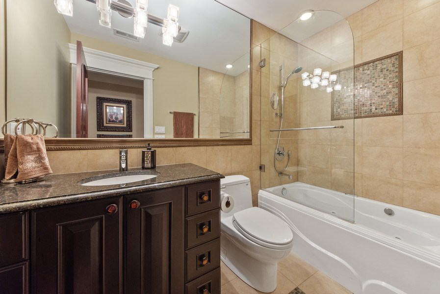 Real Estate Photography - 2415 N Pine, Arlington Heights, IL, 60004 - 3rd Bathroom