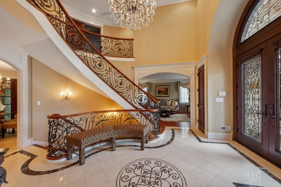 Real Estate Photography - 2415 N Pine, Arlington Heights, IL, 60004 - Foyer/Living Room