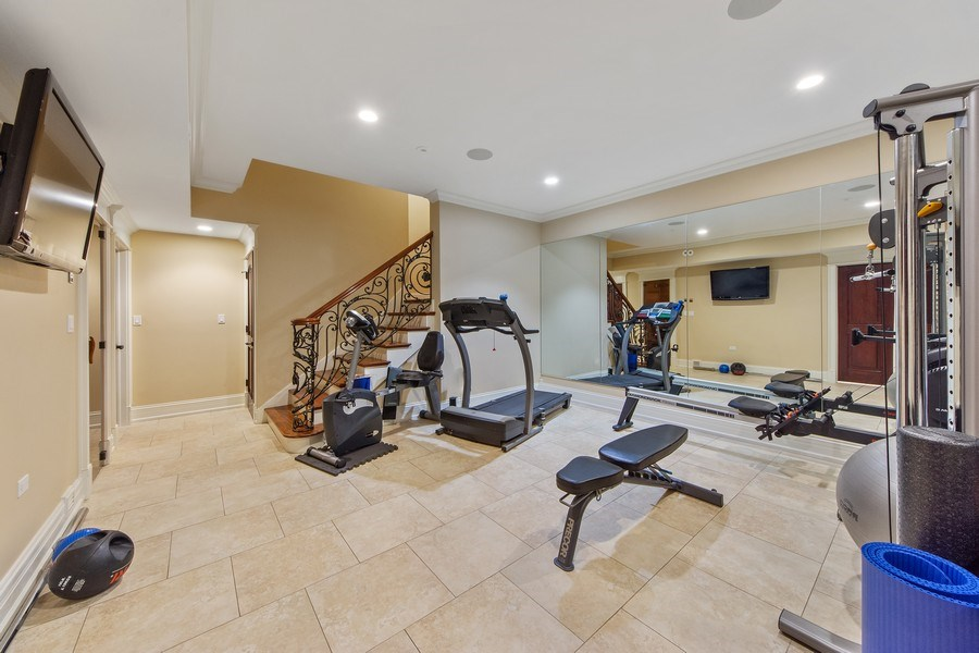 Real Estate Photography - 2415 N Pine, Arlington Heights, IL, 60004 - Exercise Room