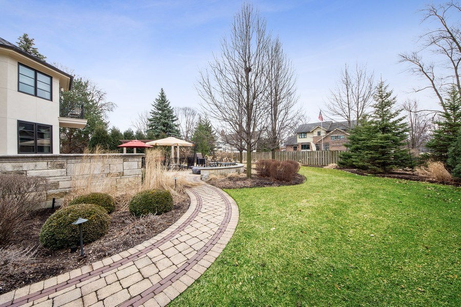 Real Estate Photography - 2415 N Pine, Arlington Heights, IL, 60004 - Back Yard
