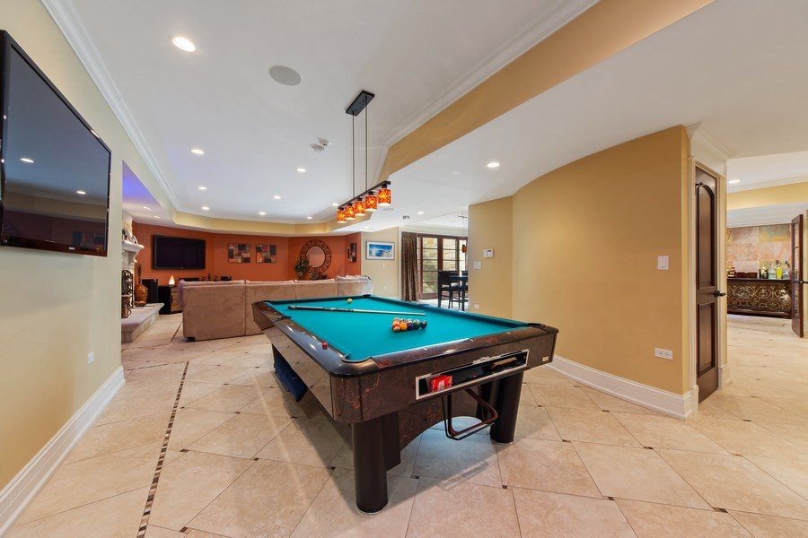 Real Estate Photography - 2415 N Pine, Arlington Heights, IL, 60004 - Game Room