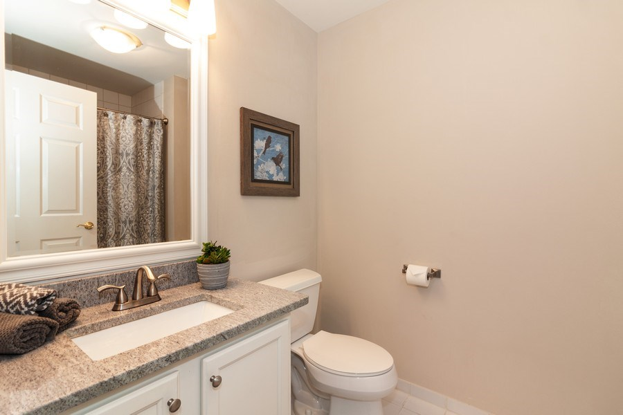 Real Estate Photography - 140 Manchester Drive #405, Buffalo Grove, IL, 60089 - 2nd Bathroom