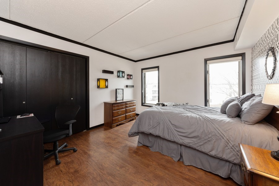 Real Estate Photography - 355 W Miner Street, Unit #2C, Arlington Heights, IL, 60005 - 2nd Bedroom