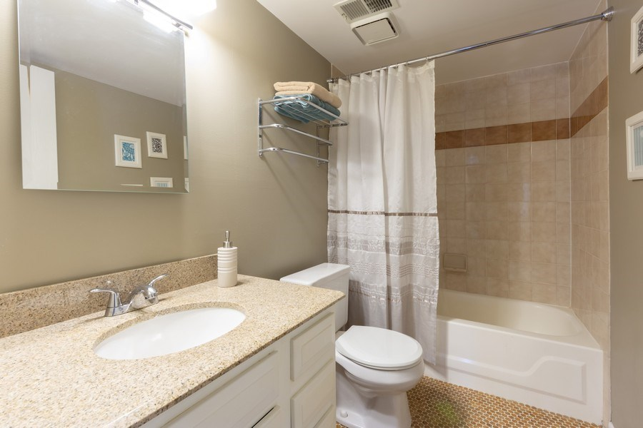 Real Estate Photography - 355 W Miner Street, Unit #2C, Arlington Heights, IL, 60005 - 2nd Bathroom