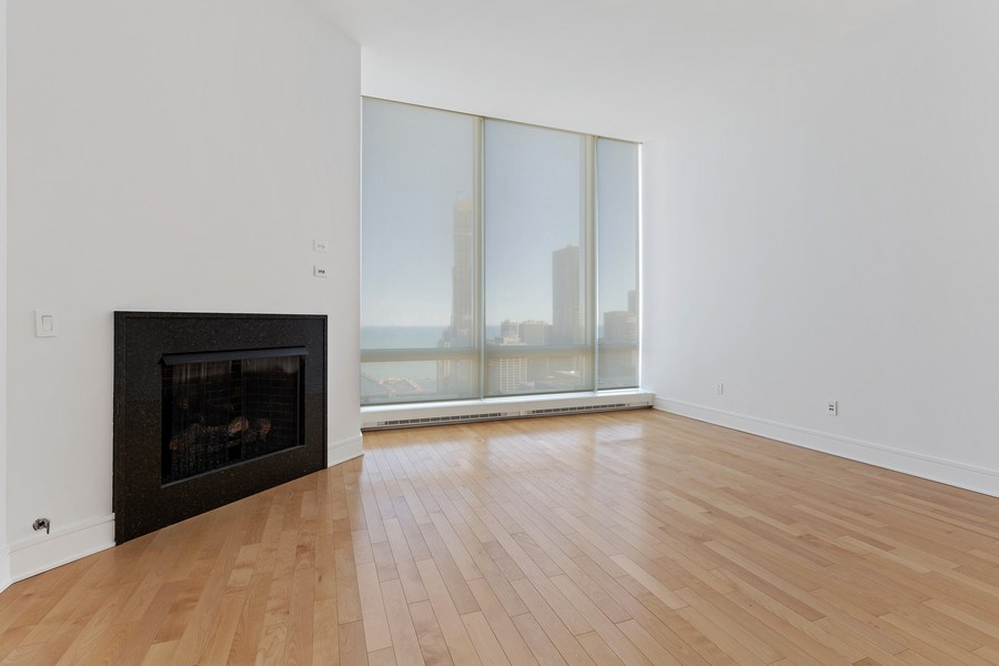 Real Estate Photography - 401 N. Wabash, 40A, Chicago, IL, 60611 - Master Bedroom