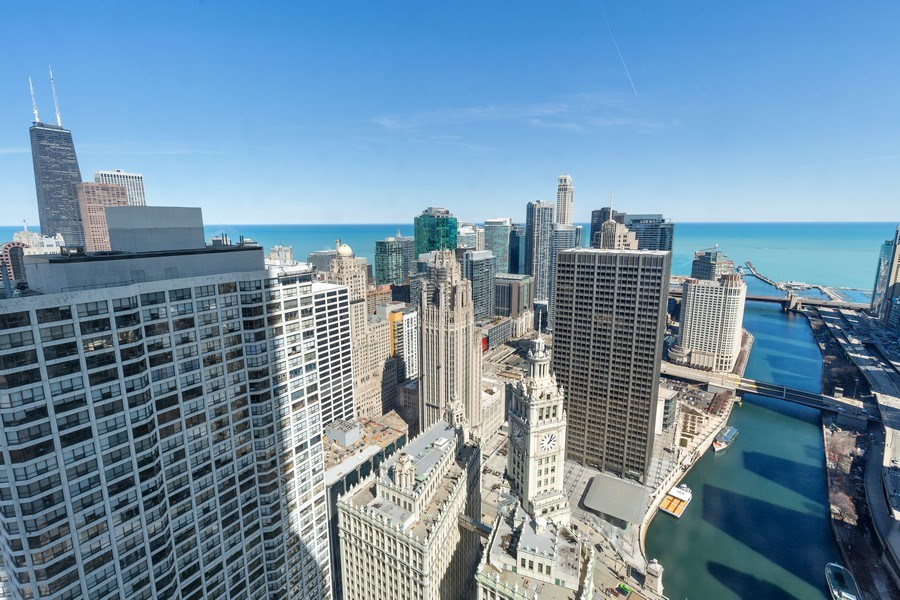 Real Estate Photography - 401 N. Wabash, 40A, Chicago, IL, 60611 - View