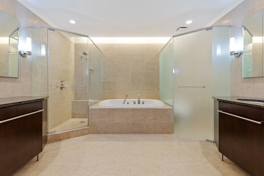 Real Estate Photography - 401 N. Wabash, 40A, Chicago, IL, 60611 - Master Bathroom I