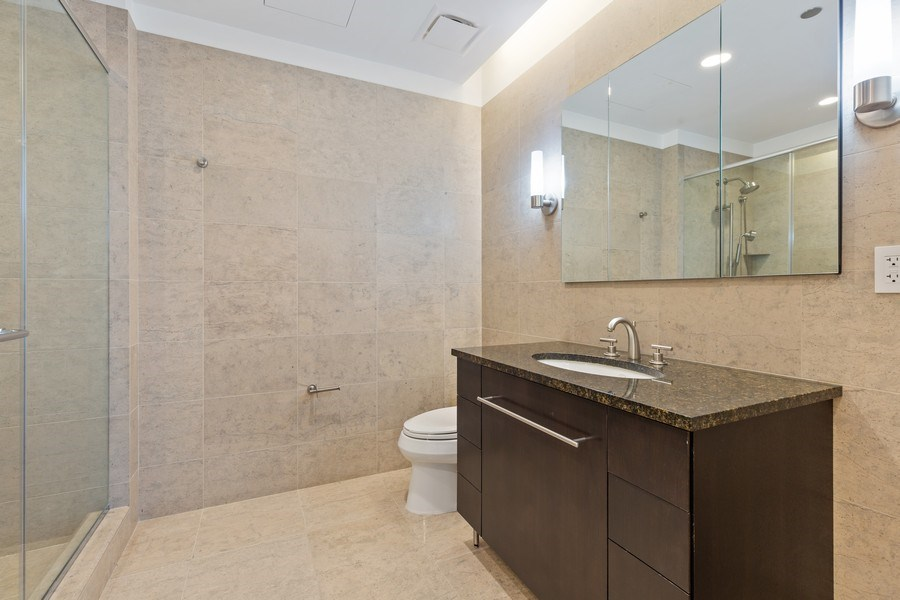 Real Estate Photography - 401 N. Wabash, 40A, Chicago, IL, 60611 - Master Bathroom II