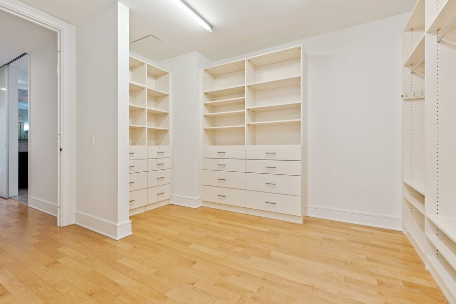 Real Estate Photography - 401 N. Wabash, 40A, Chicago, IL, 60611 - Master Bedroom closet I