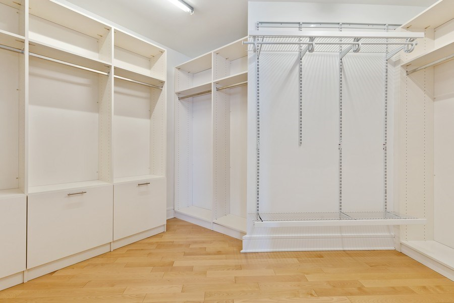 Real Estate Photography - 401 N. Wabash, 40A, Chicago, IL, 60611 - Master Bedroom Closet II