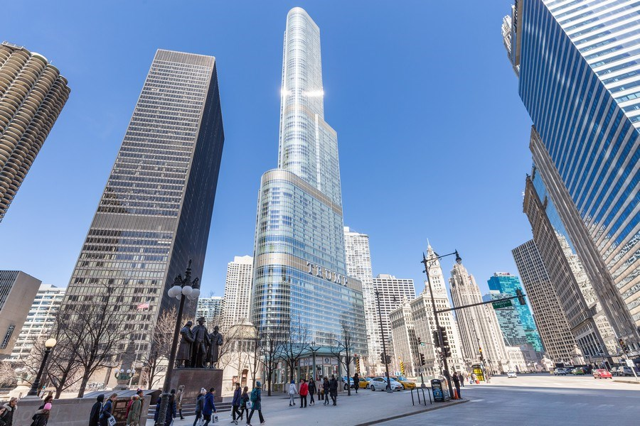 Real Estate Photography - 401 N. Wabash, 40A, Chicago, IL, 60611 - Front View