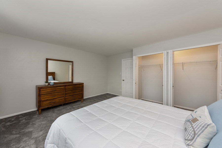 Real Estate Photography - 432 Meadow Hill Ln, Round Lake Beach, IL, 60073 - Master Bedroom