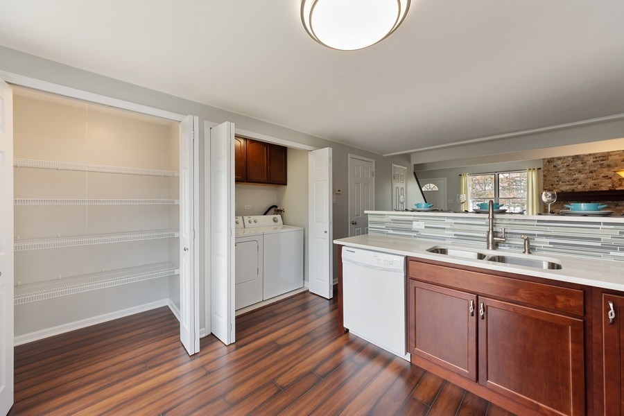 Real Estate Photography - 432 Meadow Hill Ln, Round Lake Beach, IL, 60073 - Pantry