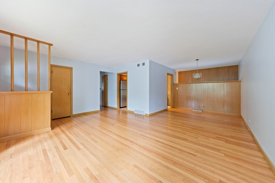 Real Estate Photography - 1616 W Grove, Arlington Heights, IL, 60005 - Living Room/Dining Room
