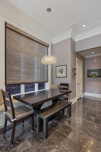 Real Estate Photography - 1912 North Hudson Avenue, Chicago, IL, 60614 - Eat-In Area