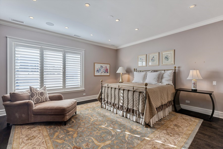 Real Estate Photography - 1912 North Hudson Avenue, Chicago, IL, 60614 - Master Bedroom