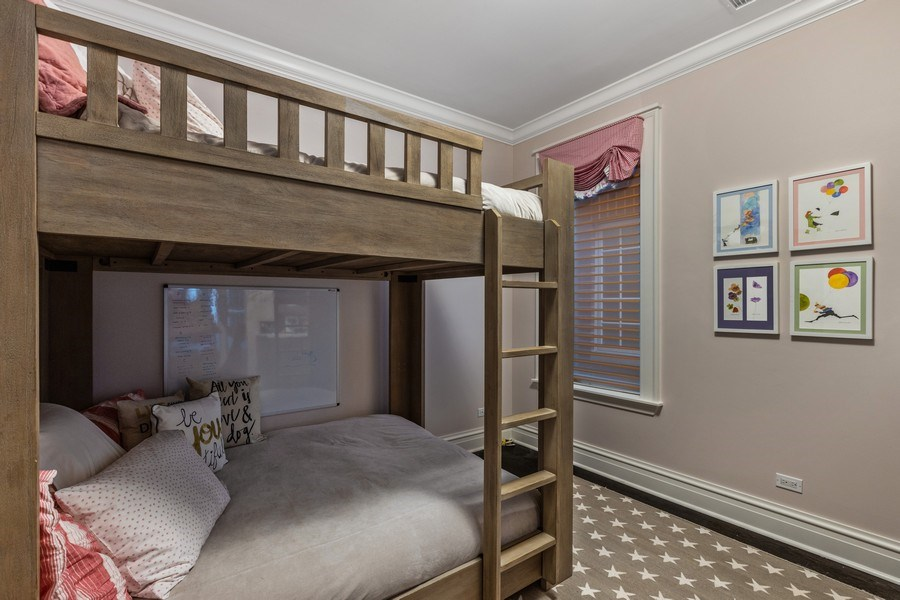 Real Estate Photography - 1912 North Hudson Avenue, Chicago, IL, 60614 - 3rd Bedroom