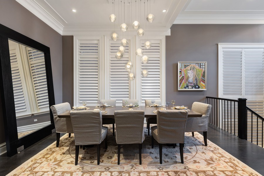 Real Estate Photography - 1912 North Hudson Avenue, Chicago, IL, 60614 - Dining Room