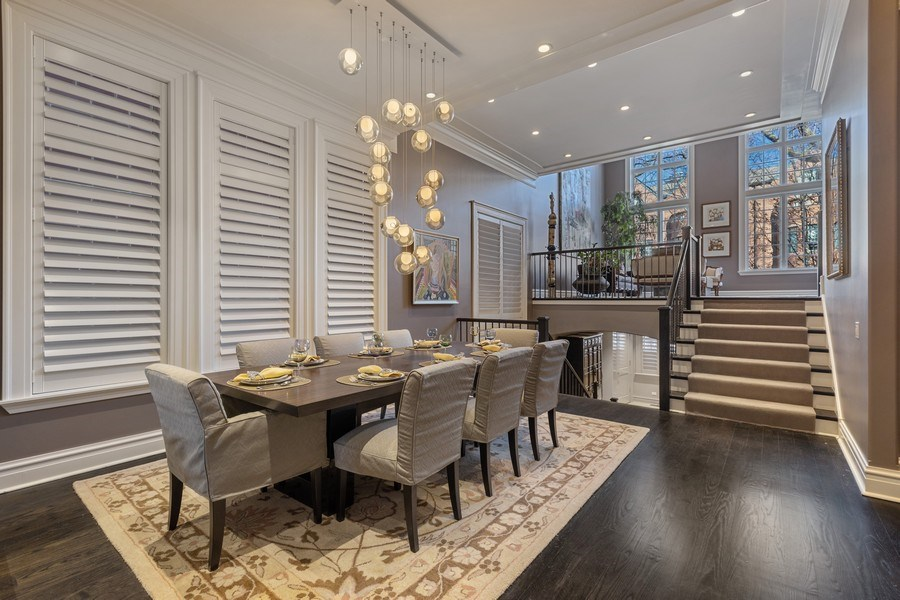 Real Estate Photography - 1912 North Hudson Avenue, Chicago, IL, 60614 - Dining/Living Room