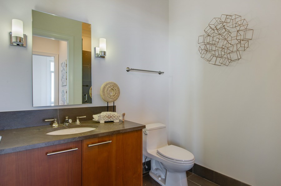 Real Estate Photography - 2550 N Lakeview #N1803, Chicago, IL, 60614 - Second Bath