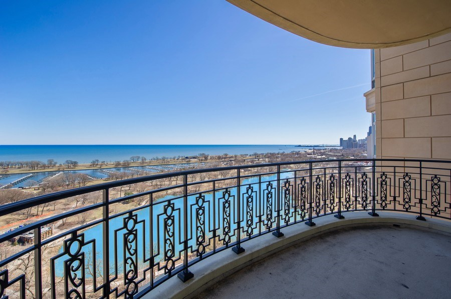 Real Estate Photography - 2550 N Lakeview #N1803, Chicago, IL, 60614 - Balcony