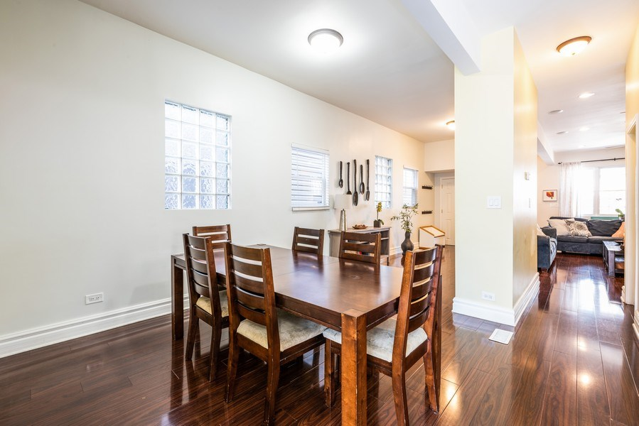 Real Estate Photography - 1950 N Richmond Ave, Chicago, IL, 60647 - Dining Room