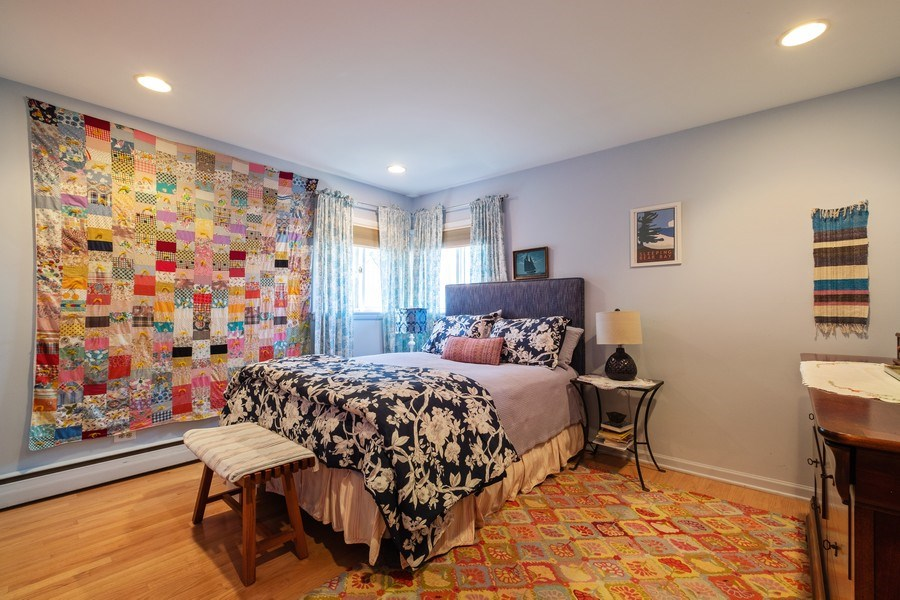 Real Estate Photography - 1888 Elmwood Drive, Highland Park, IL, 60035 - Master Bedroom