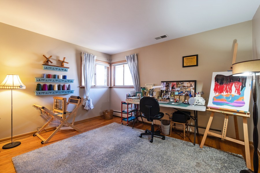 Real Estate Photography - 1888 Elmwood Drive, Highland Park, IL, 60035 - 3rd Bedroom