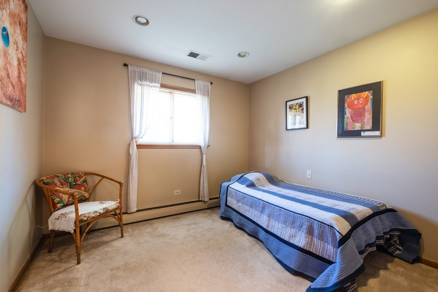 Real Estate Photography - 1888 Elmwood Drive, Highland Park, IL, 60035 - 4th Bedroom