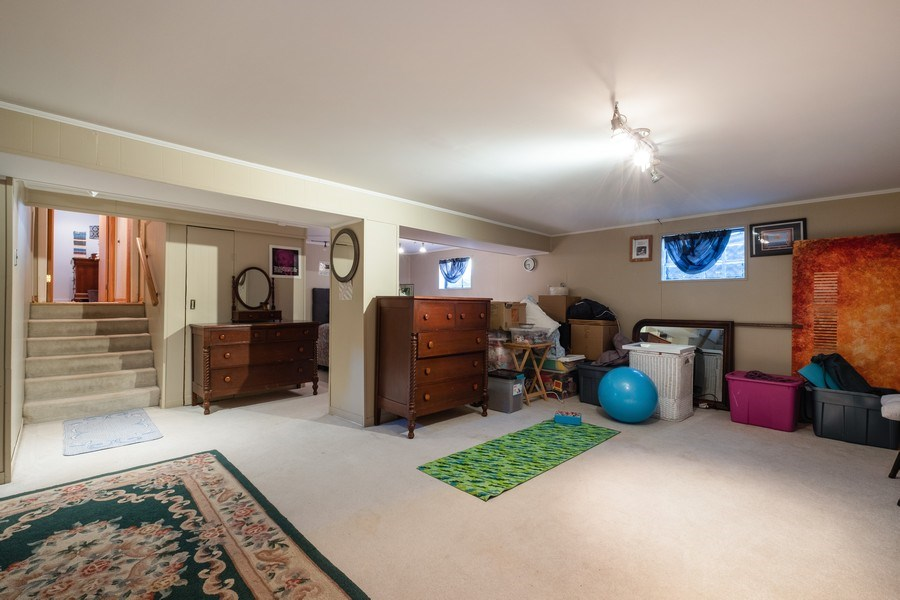 Real Estate Photography - 1888 Elmwood Drive, Highland Park, IL, 60035 - Recreational Room