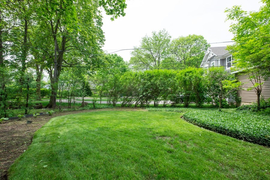 Real Estate Photography - 1888 Elmwood Drive, Highland Park, IL, 60035 - Back Yard