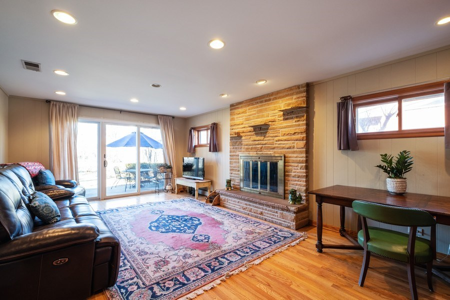 Real Estate Photography - 1888 Elmwood Drive, Highland Park, IL, 60035 - Family Room