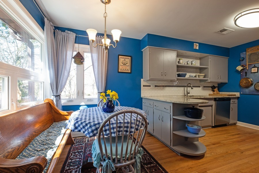 Real Estate Photography - 1888 Elmwood Drive, Highland Park, IL, 60035 - Breakfast Area