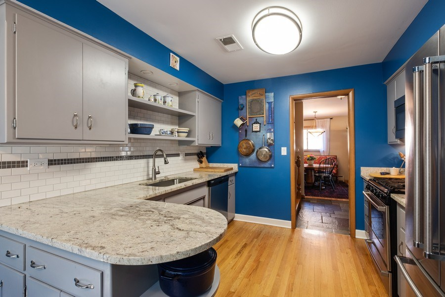 Real Estate Photography - 1888 Elmwood Drive, Highland Park, IL, 60035 - Kitchen