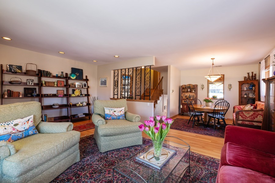 Real Estate Photography - 1888 Elmwood Drive, Highland Park, IL, 60035 - Living Room / Dining Room