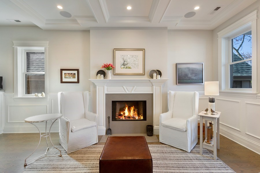 Real Estate Photography - 2307 North Greenview, 2, Chicago, IL, 60614 - Living Room