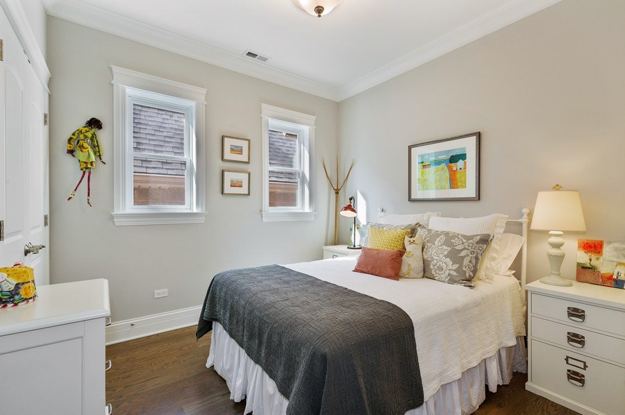 Real Estate Photography - 2307 North Greenview, 2, Chicago, IL, 60614 - 2nd Bedroom