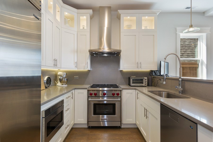 Real Estate Photography - 2307 North Greenview, 2, Chicago, IL, 60614 - Kitchen