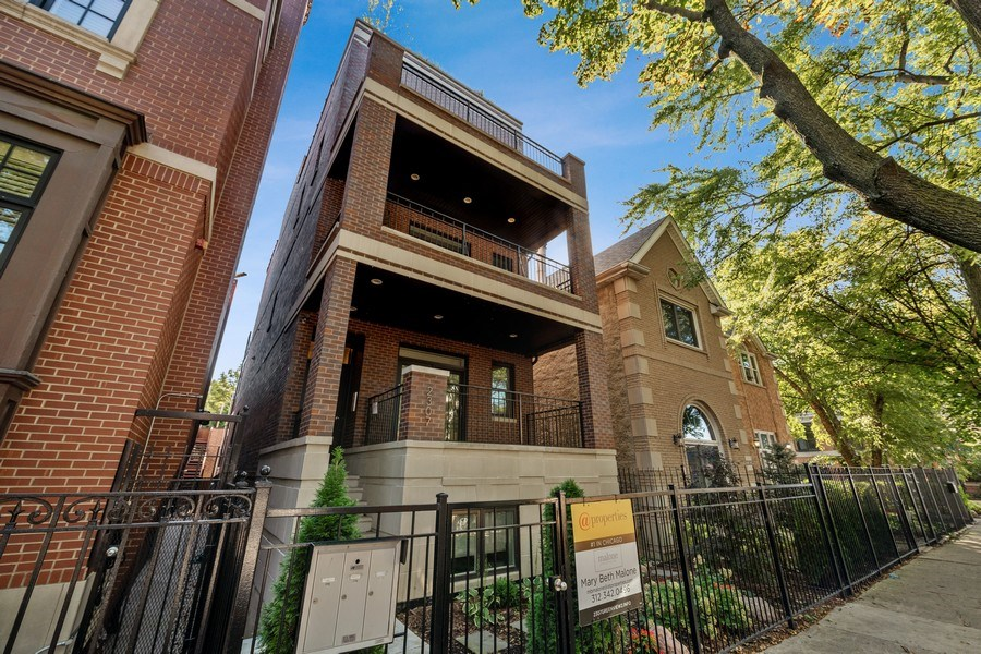 Real Estate Photography - 2307 North Greenview, 2, Chicago, IL, 60614 - Front View