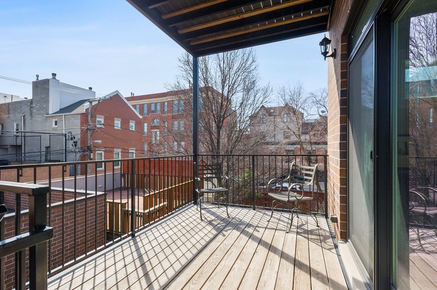 Real Estate Photography - 2307 North Greenview, 2, Chicago, IL, 60614 - Balcony