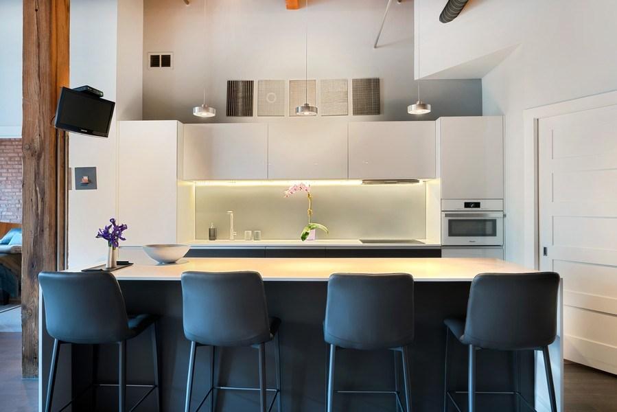 Real Estate Photography - 360 West Illinois, Unit 619, Chicago, IL, 60654 - Kitchen