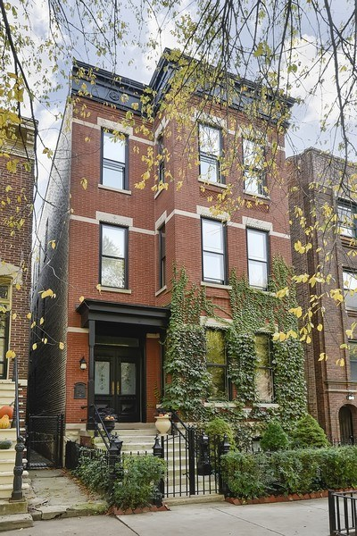 Real Estate Photography - 449 W. Webster Ave, Chicago, IL, 60614 - Front View