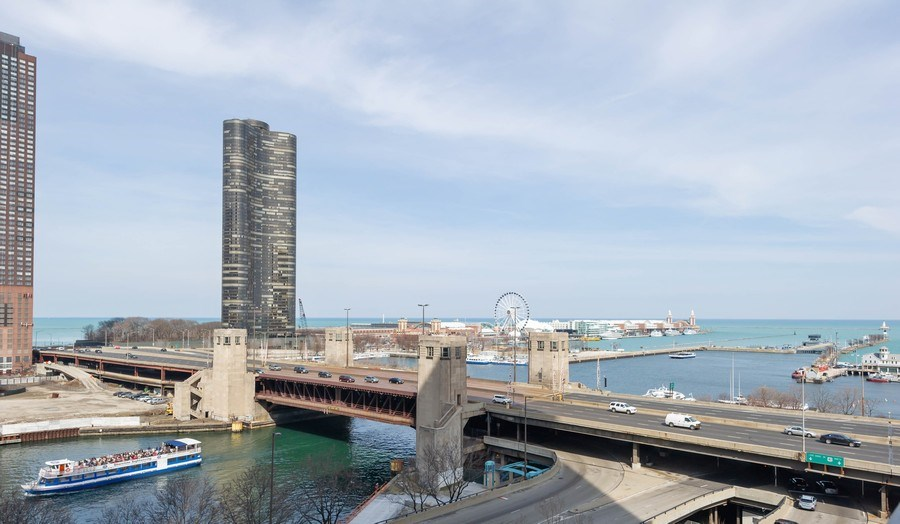 Real Estate Photography - 450 E. Waterside, #401, Chicago, IL, 60601 - View