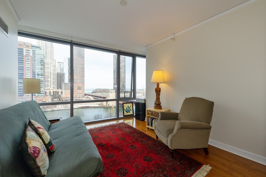 Real Estate Photography - 450 E. Waterside, #401, Chicago, IL, 60601 - 2nd Bedroom