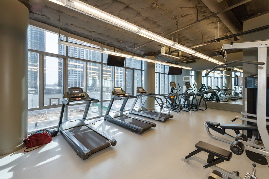 Real Estate Photography - 450 E. Waterside, #401, Chicago, IL, 60601 - Gym