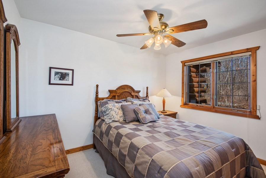 Real Estate Photography - 47644 Lakeview Drive, Lawrence, MI, 49064 - 2nd Bedroom
